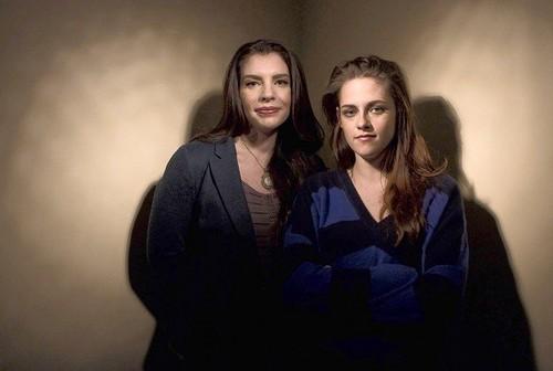 Kristen w/ Stephenie Meyer