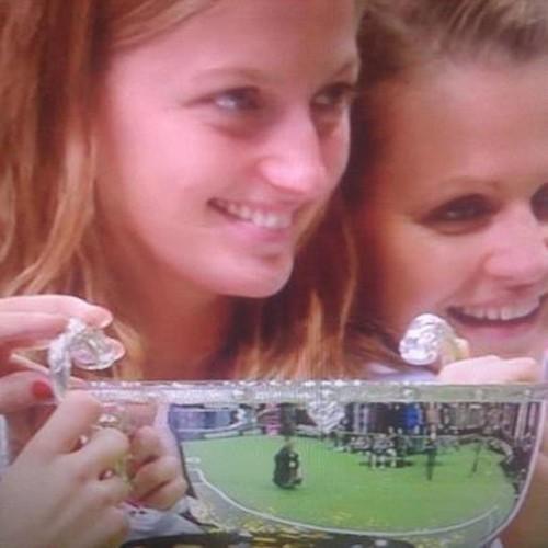 Kvitova and Safarova won Fed Cup 2012