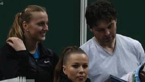 Kvitova very admires Jagr