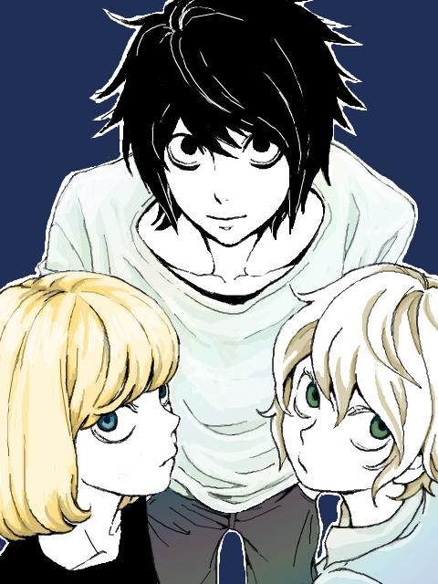 L, Mello, and Near
