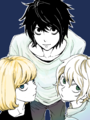 L, Mello, and Near - death-note fan art