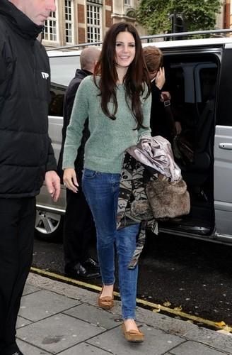 Lana Del Rey Spotted in London