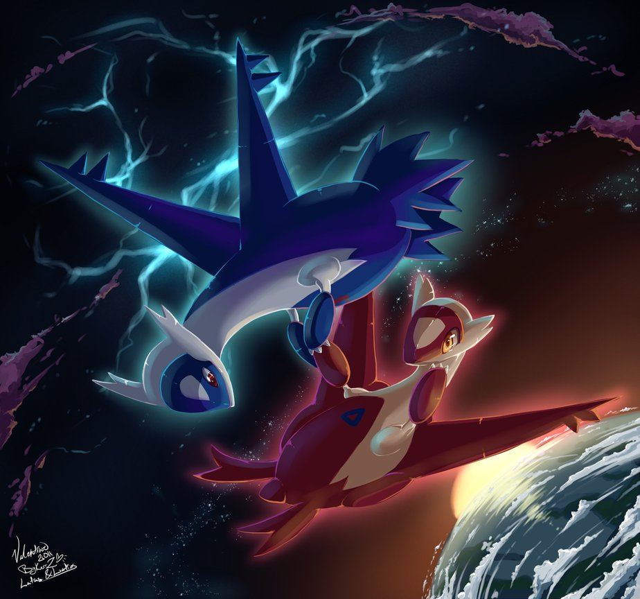 Latias and Latios