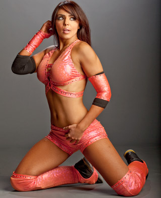 WWE LAYLA wallpaper possibly with a bikini titled Layla Photoshoot Flashback