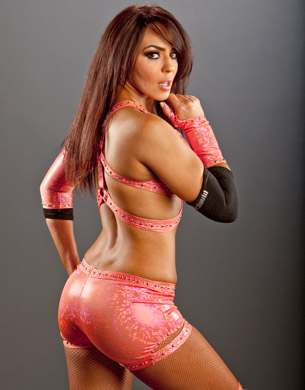 Layla (WWE) fond d'écran probably containing a bikini, a lingerie, and a brassiere entitled Layla Photoshoot Flashback