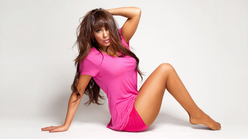 Layla (WWE) fond d'écran with a bustier titled Layla