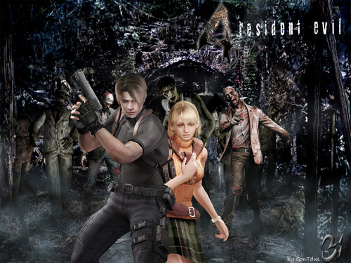 Leon Kennedy wallpaper called Leon and Ashley wallpaper