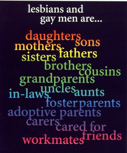 Homosexuals are...