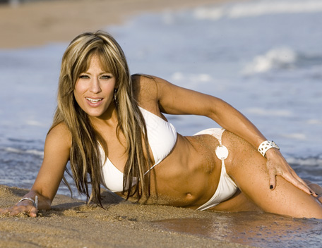 Lilian Garcia wallpaper with a bikini called Lilian Garcia Photoshoot Flashback