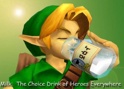Link drinking lait