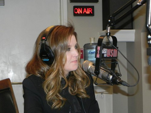 Lisa on WSM Radio with Mike Terry -10/31/12