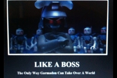 Lord garmadon is a boss