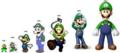 Luigi's Evolution