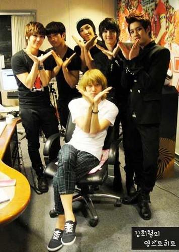 MBLAQ @ Kim Hee Chul's Young strada, via Radio