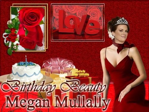 Megan Mullally - Birthday Beauty