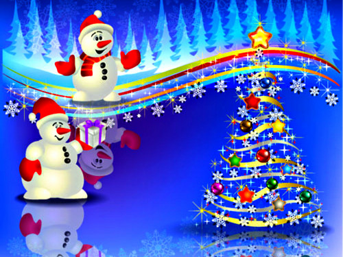 Christmas wallpaper titled Merry Christmas