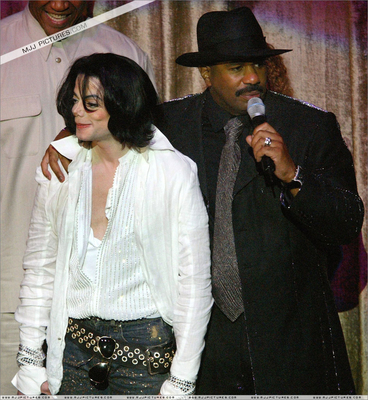 Michael And Good Friend Steve Harvey