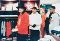 Michael Doing Some Shopping With His Nephews - michael-jackson photo