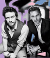Michael & James - james-mcavoy-and-michael-fassbender fan art