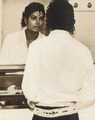 Michael Making Himself Beautiful For Me - michael-jackson photo