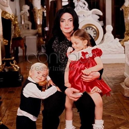 Michael, Paris and Prince.