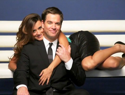 Michael Weatherly & Cote de Pablo TV Guide Photoshoot
