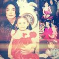 Michael and Paris.  - michael-jackson photo
