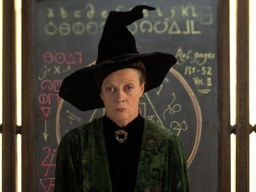 Minerva McGonagall achtergrond