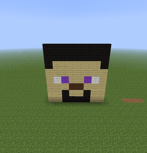 mais minecraft Pixel Art!!!!