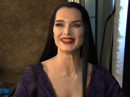Morticia Addams on Broadway