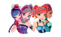Musa Tecna Bloom Layla Hallowinx