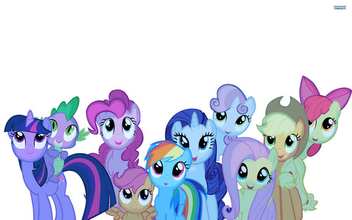 My Little pony Friendship Is Magic achtergrond