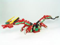 Mythical Qi Beast Ryuusei-oh (Beast Form)