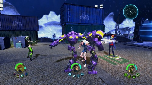 New Young Justice Legacy screenshots