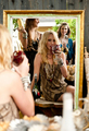 New photos of Candice for montrer Me Your Mumu's 2012 Holiday Collection.