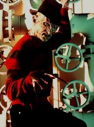 Freddy Krueger پیپر وال titled Nightmare On Elm سٹریٹ, گلی 4