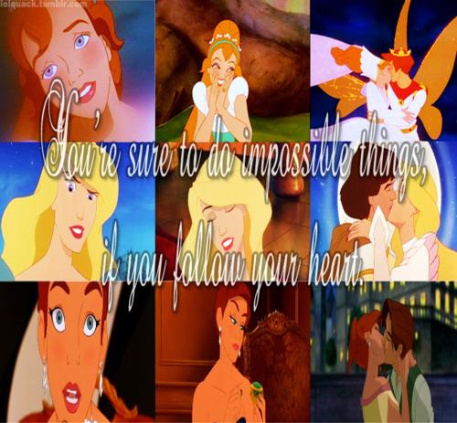 Non डिज़्नी Princess
