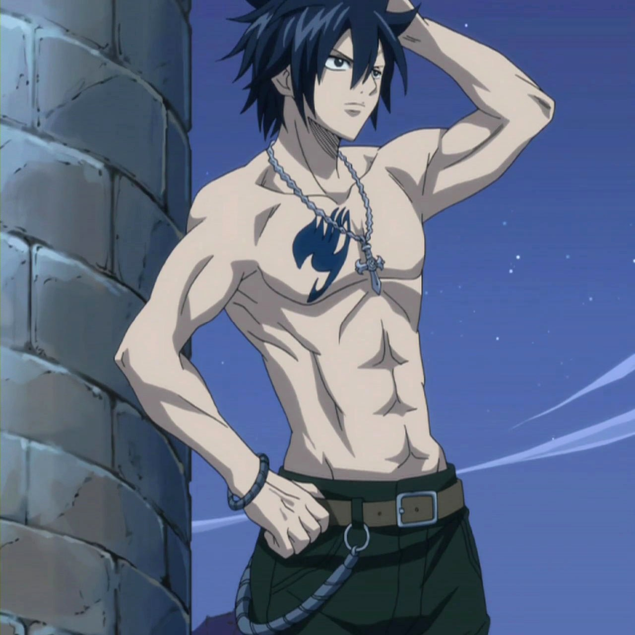 how tall is grey fullbuster