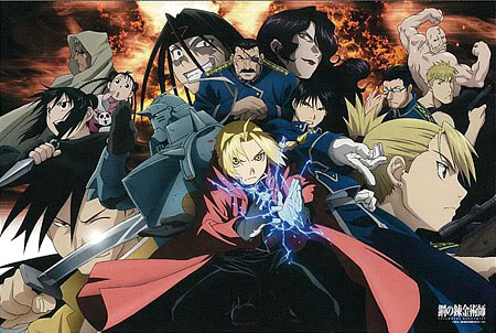 full metal alchemist wallpaper with anime entitled Official Artwork