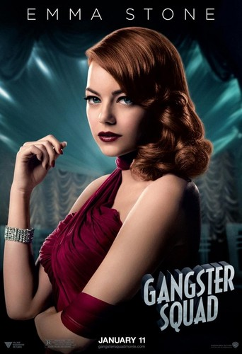 Official Gangster Squad Poster of Emma