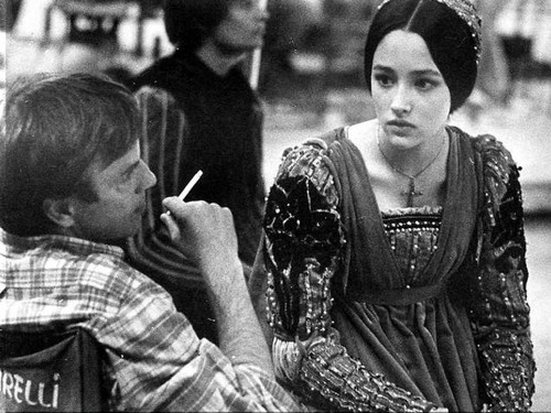 Olivia Hussey & Franco Zeffirelli