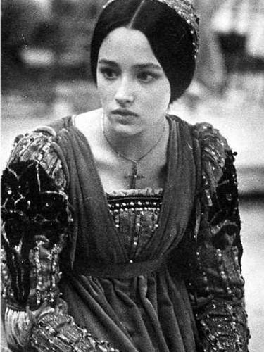Olivia Hussey - On Romeo & Juliet movie set