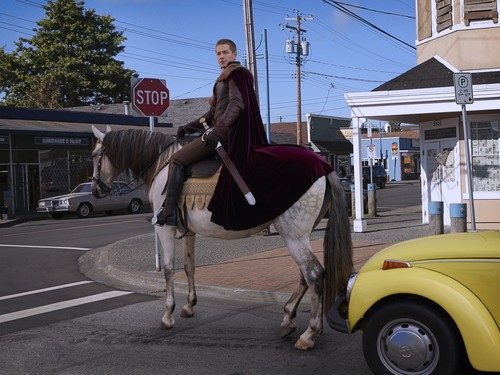 Once Upon A Time wallpaper with a lippizan, a horse trail, and a horse wrangler entitled Once Upon a Time - Season 2 - Cast Promo Photos- Prince Charming