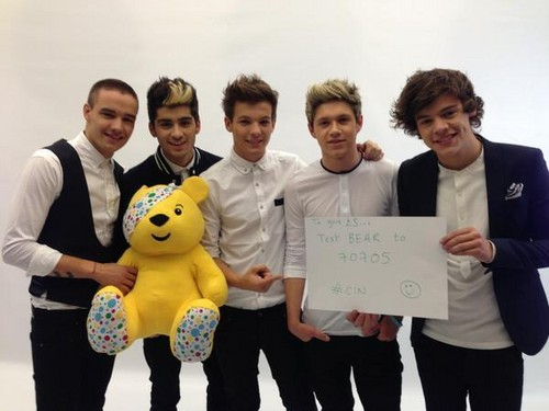 One Direction in BBC Children in Need