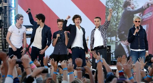 One Direction on Ellen tampil