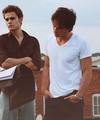 Paul&Ian - paul-wesley-and-ian-somerhalder photo