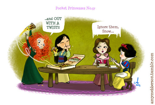 Pocket Princesses 37: mesa, tabla Manners