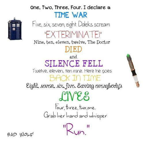 Doctor Who kertas dinding entitled Poem! :D