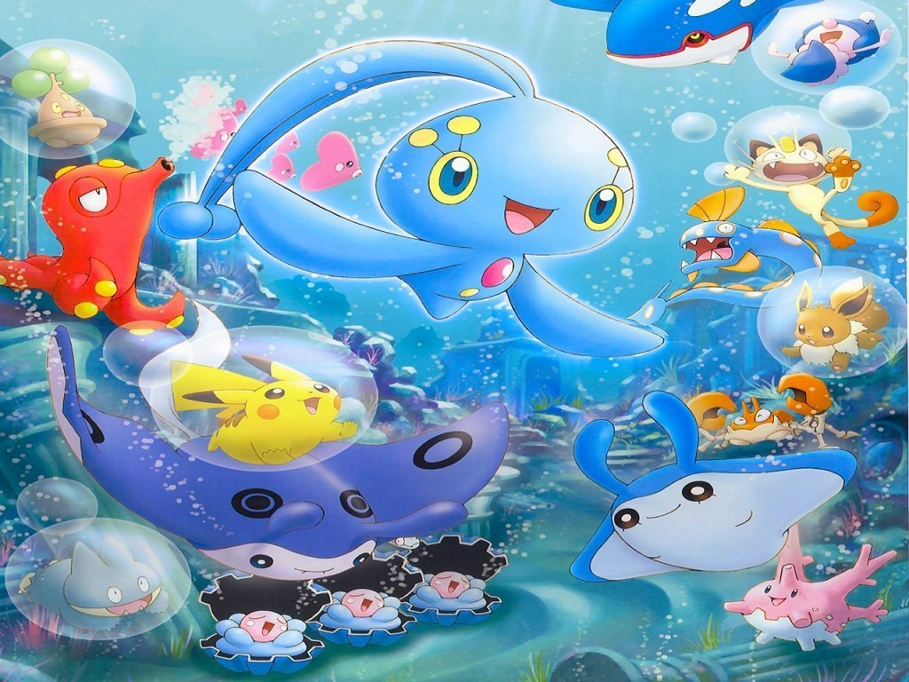 Pokemon Underwater Party - Pokémon Wallpaper (32725613 ...
