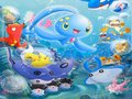 Pokemon Underwater Party - pokemon wallpaper